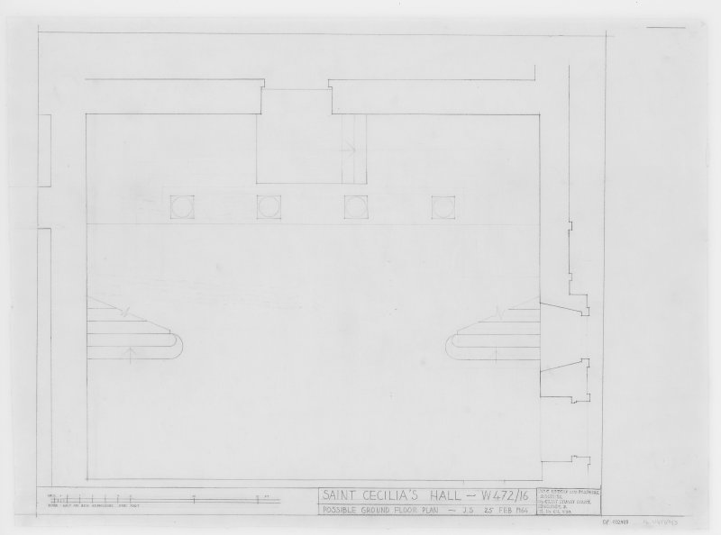 Possible Ground Floor Plan.