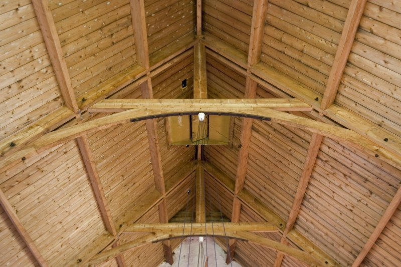 Interior. Roof structure. Detail