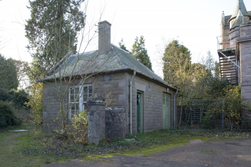 View of outbuilding
