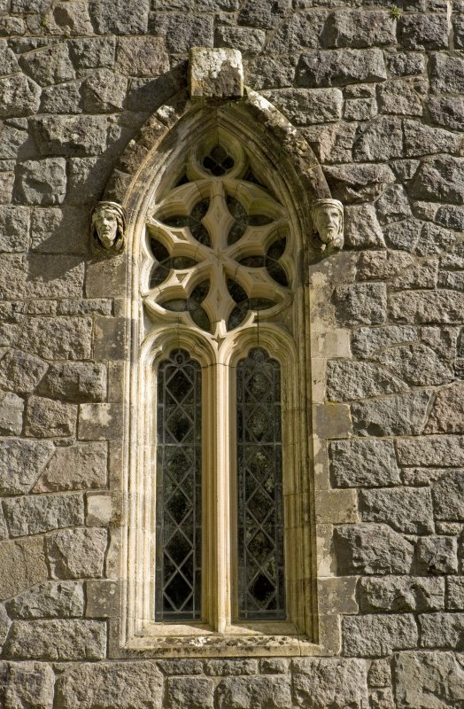 St. Conval's Chapel, detail of window in W wall
