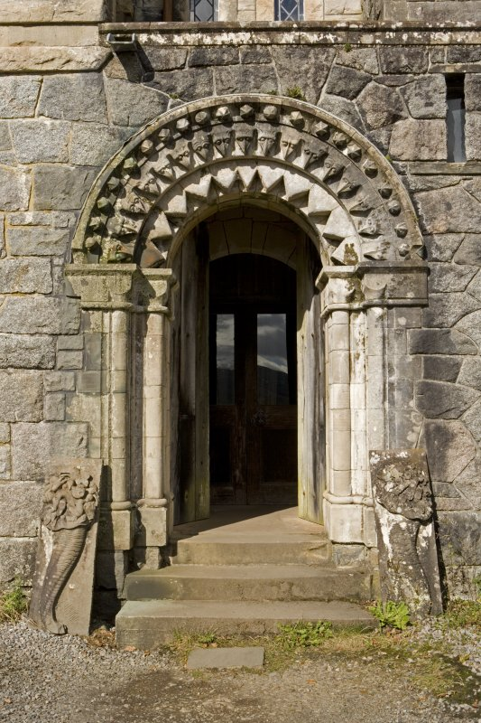 View of S doorway, St Conan's Church, Lochawe