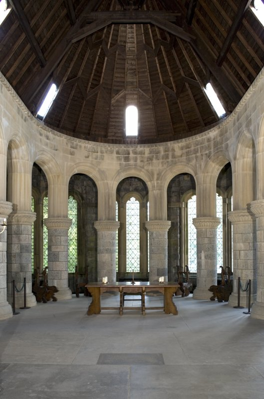 Interior. Apse, view from W