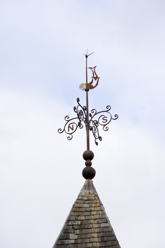 Detail of weather vane
