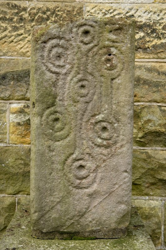 Detail of 9th or 10th Century Cross Shaft at E end