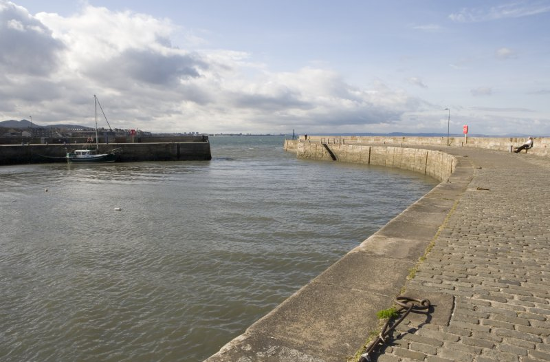 Pier and harbour entrance, view from SSE