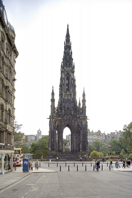 View from North of Scott Monument.