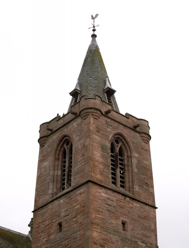 Detail of spire