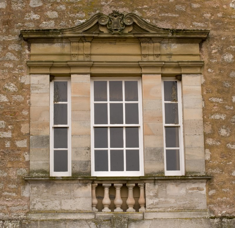 Detail of dining room window