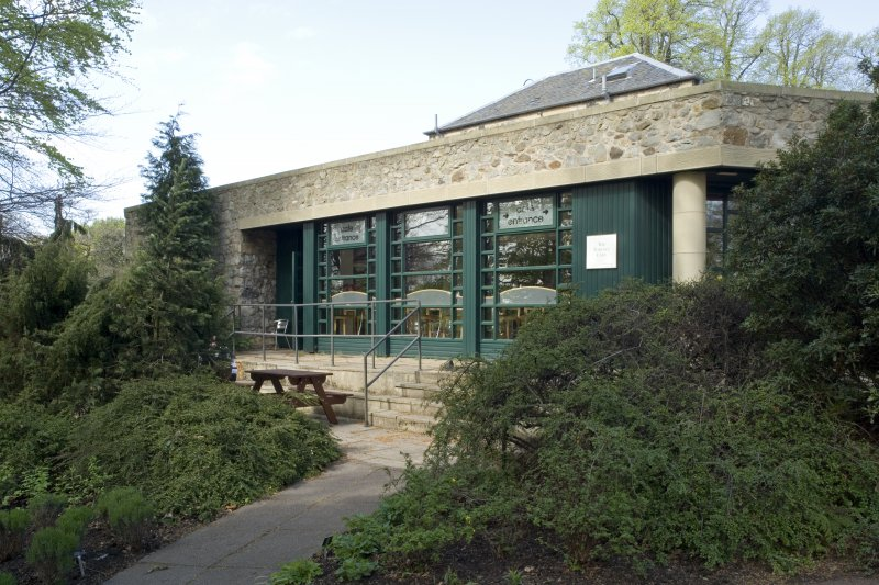 Pavilion tea room from west