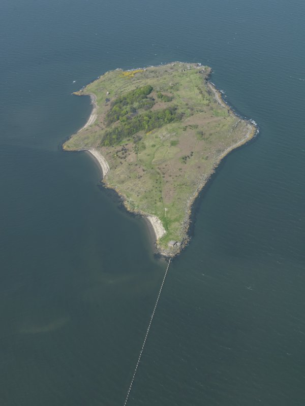 General oblique aerial view centred on the Island, taken from the S.