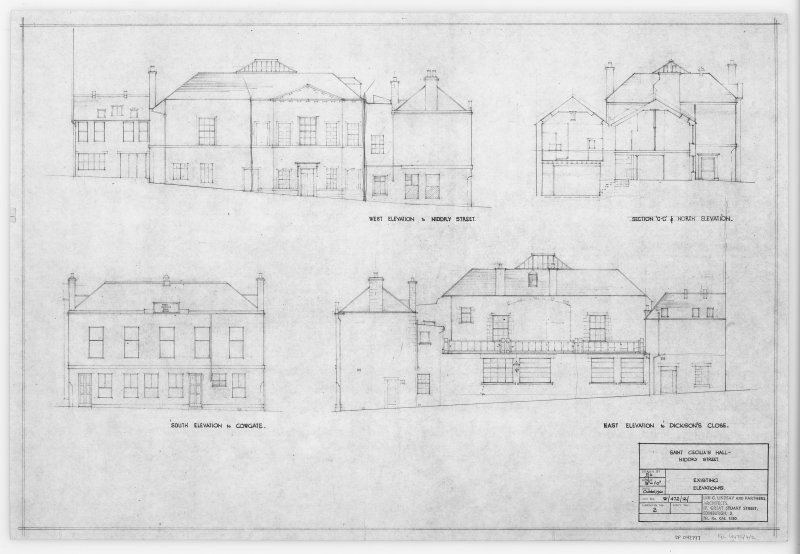 Existing Elevations.