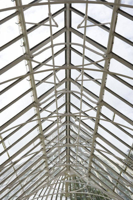 Interior. Conservatory. Ventilated roof section. Detail
