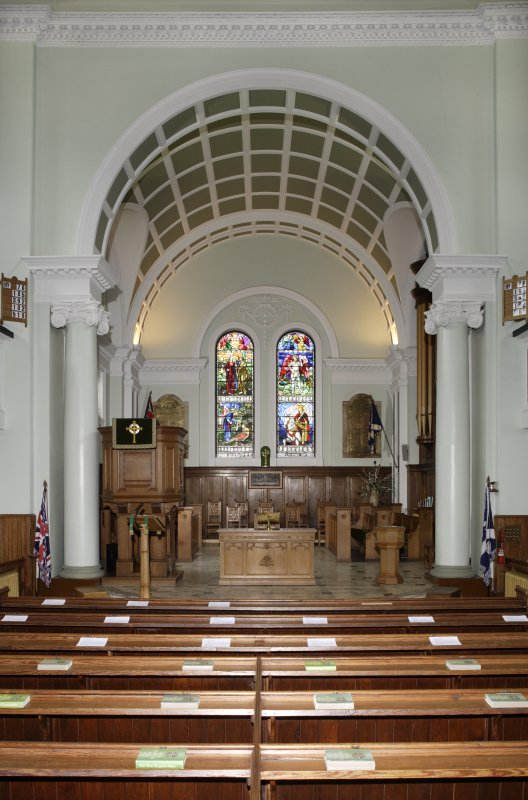 Interior. General view looking towards the Chancel.