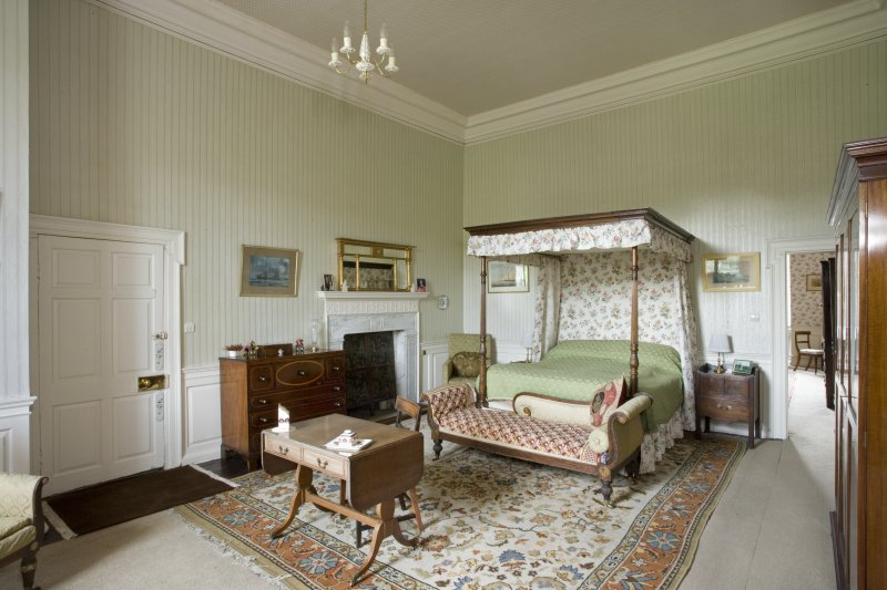 Interior. Tower. First  floor. East Chintz bedroom