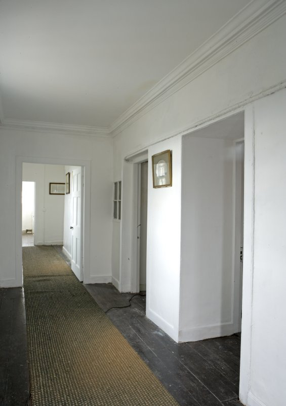 Interior. Tower. Third floor. E Corridor