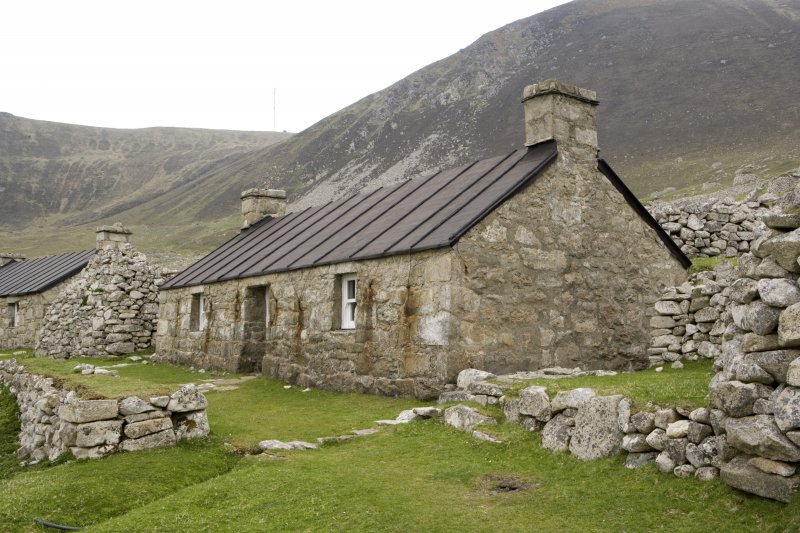 Hirta, Village Bay. View of house 5 from SE.