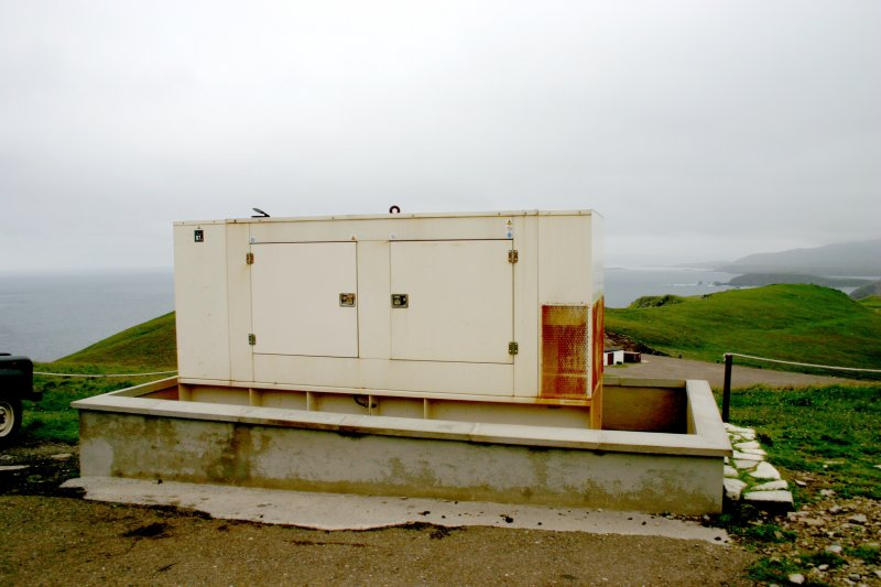 Faraid Head, generator, view from south-east.