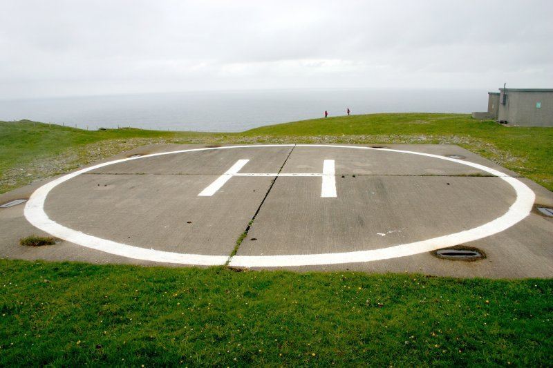 Faraid Head, helicopter pad, view from south-west.