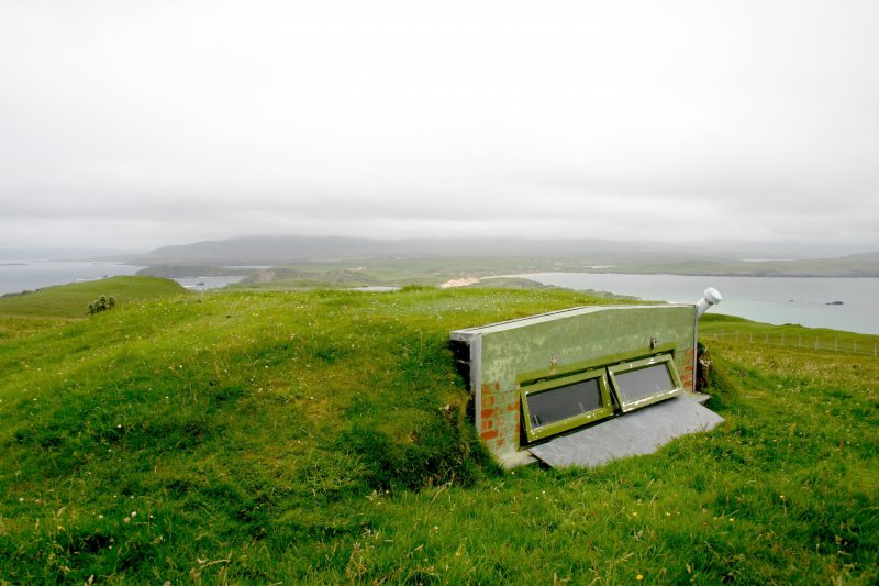 Faraid Head, forward observation post, view from the north.