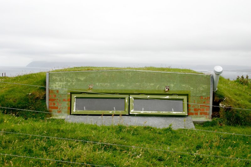 Faraid Head, forward observation post, view from the north-west.