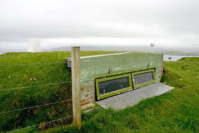 Faraid Head, forward observation post, view from NNW.