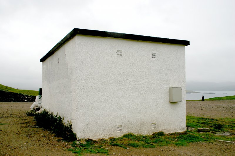 Faraid Head, store building, view from the north.