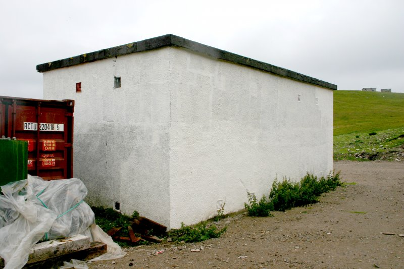 Faraid Head, store building, view from the south-east.