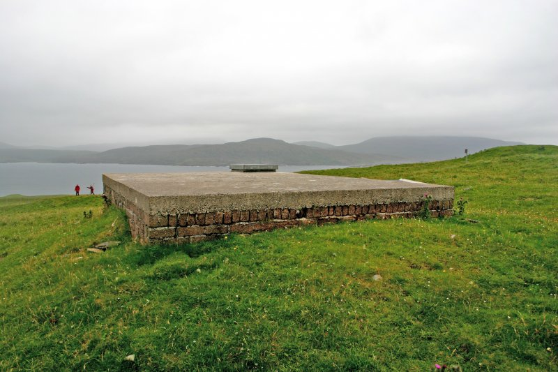 Faraid Head, water tank, view from the NE.