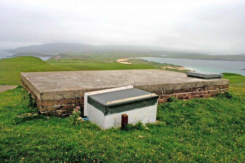 Faraid Head, water tank, view from the NNW.