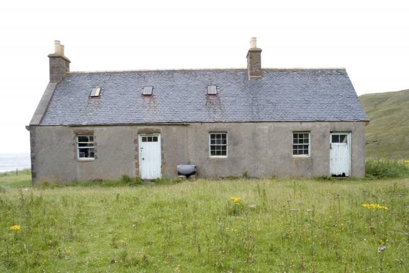 Kearvaig, shepherd's house, view from S.