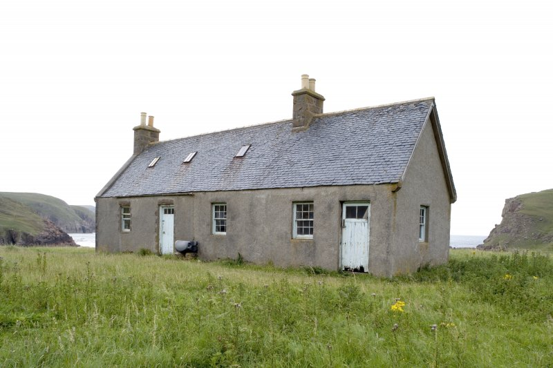 Kearvaig, shepherd's house, view from NE.