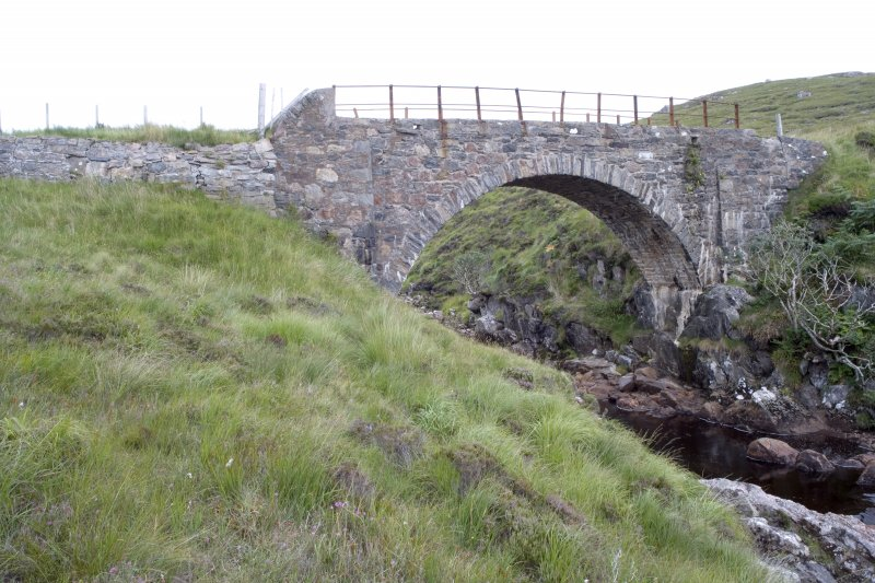 Kearvaig River bridge, view from the NNW.