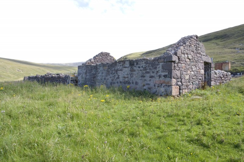 Kearvaig, farmstead, view of range from NW.