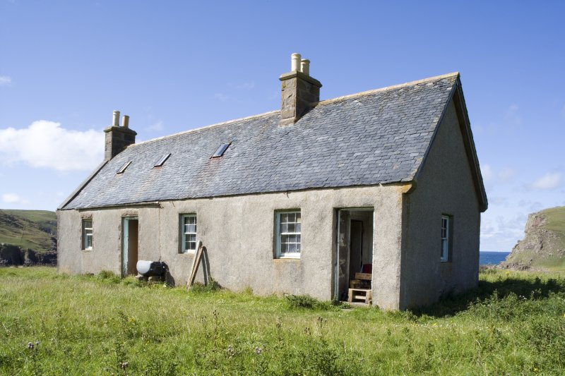 Kearvaig, shepherd's house, view from SE.