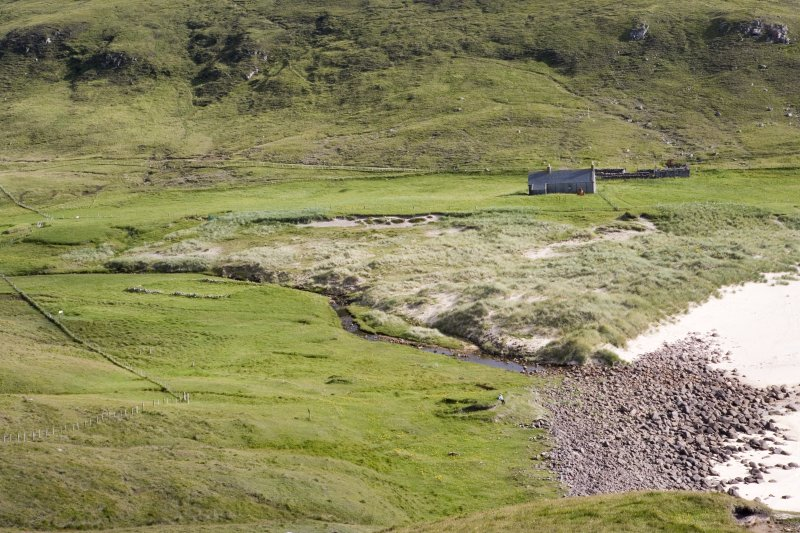 Kearvaig, farmstead and shepherd's house, general view from N.