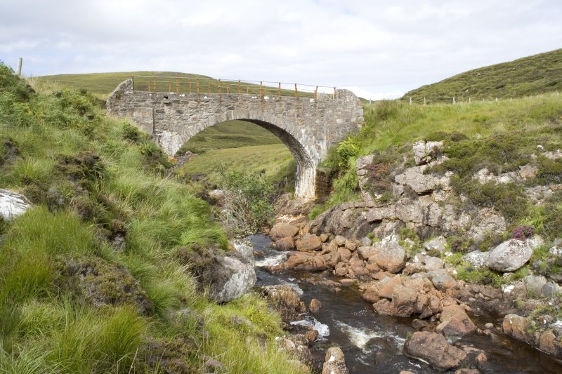 Kearvaig River, bridge, view from SE.