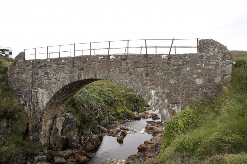 Kearvaig River, bridge, view from E.