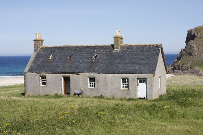 Kearvaig, shepherd's house, view from SSE.