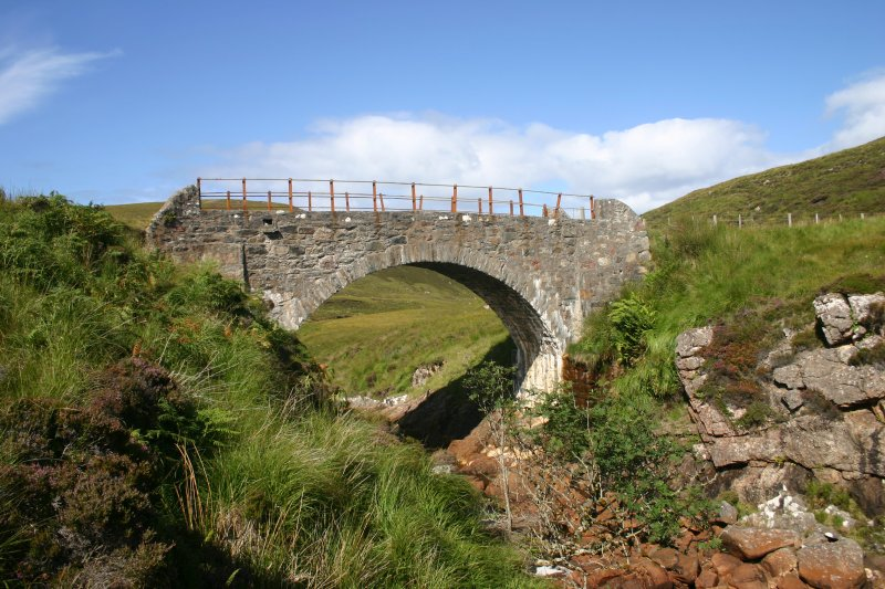 Kearvaig River, bridge, view from the SE.