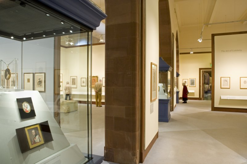 Interior. Ground floor. Gallery