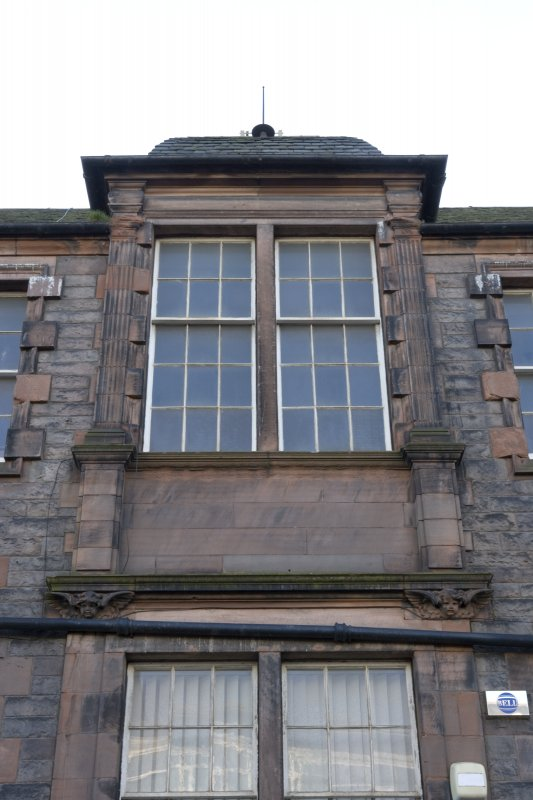 North front. First floor window.