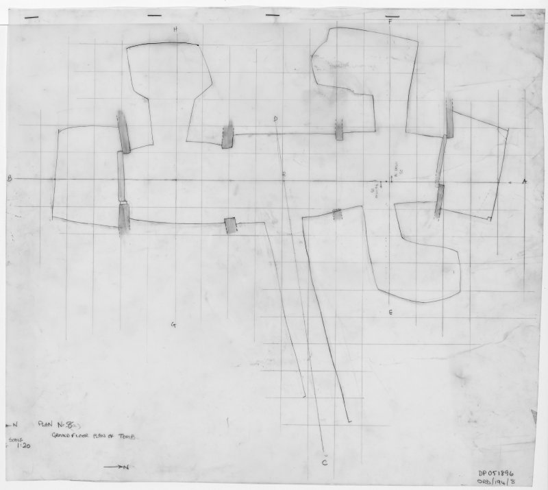 Excavation plans (Plan List in MS/143/4)