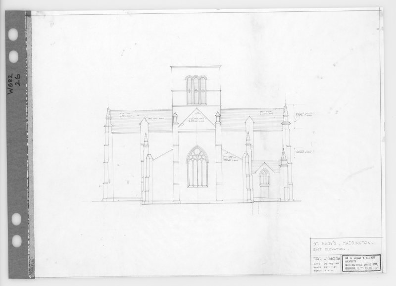 East elevation.