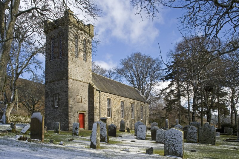 View of the Parish Church of Ettrick & Buccleuch from WSW