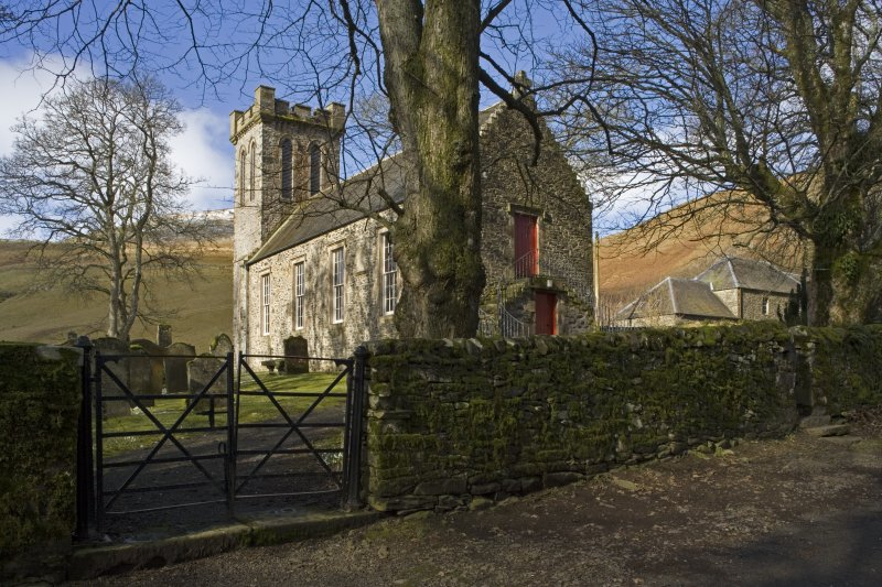 View of the Parish Church of Ettrick & Buccleuch from E
