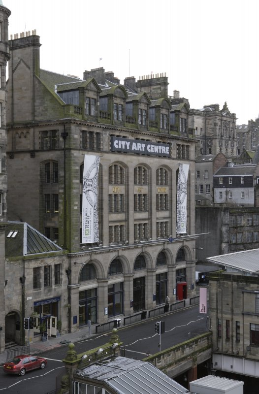 CITY ART CENTRE SHOWING TREASURED PLACES BANNERS
