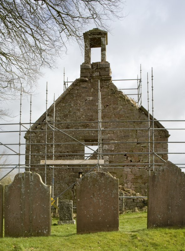 View of W elevation of Dalton Old Parish Church