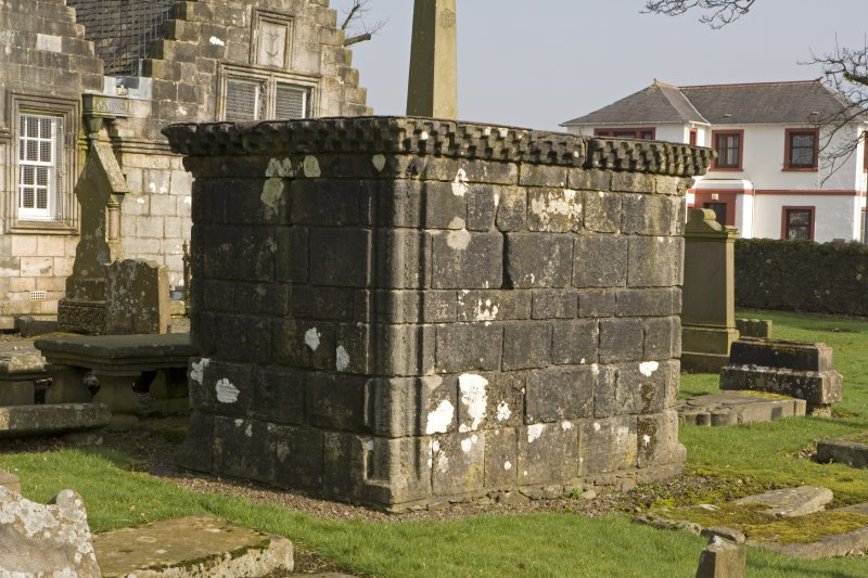 View of Smith Mausoleum