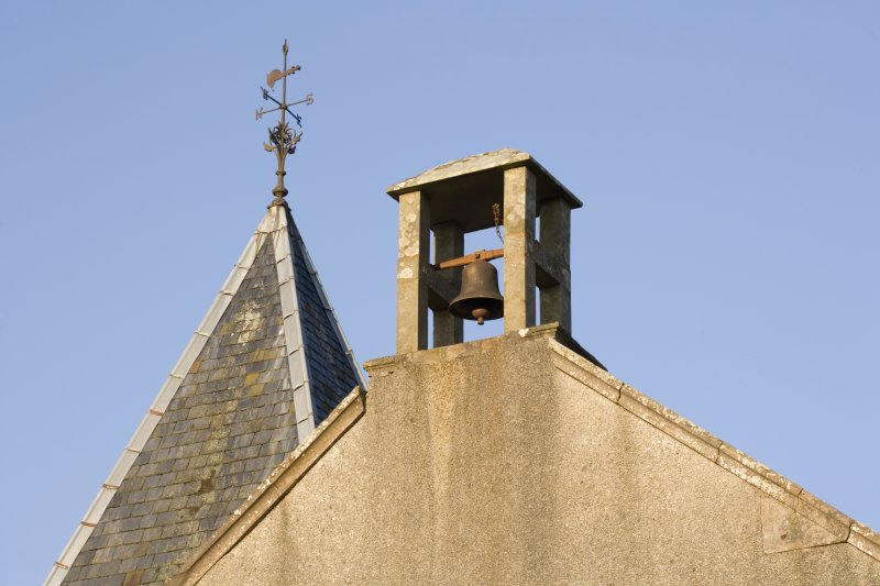 Detail of bellcote and weather vane
