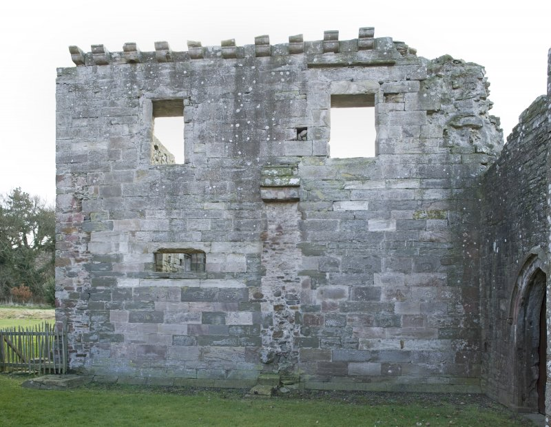 Chapter-house, N wall, composite elevation ( made up from DP 58270 and DP 58271)